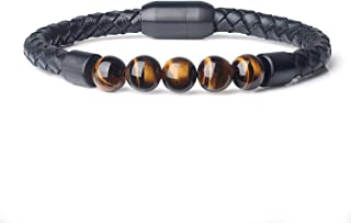 COAI Genuine Leather Beads Bracelet
