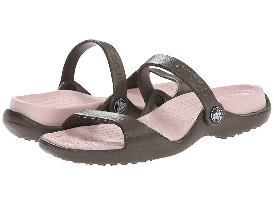 Crocs Cleo (Chocolate/Cotton Candy) Women