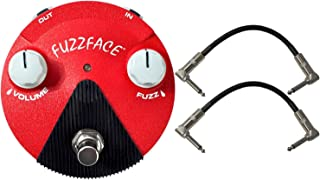Dunlop FFM6 BAND OF GYPSYS Fuzz FACE MINI Pedal w/ 2 Patch Cables