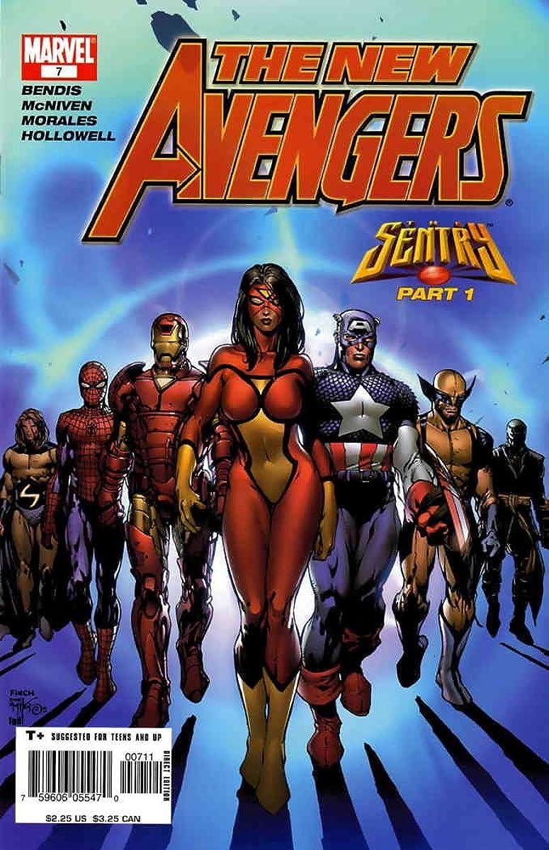 New Avengers #7 VF/NM ; Marvel comic book