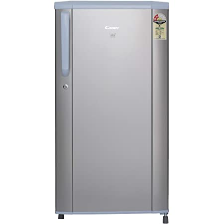 Candy 170 L 2 Star Direct-Cool Single Door Refrigerator (CDSD522170MS, Moon Silver)