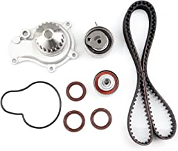 SCITOO Timing Belt Water Pump Gasket Tensioner Kit Fits for 2.4L Dodge Caravan Stratus Jeep Wrangler Liberty Chrysler Sebring PT Cruiser Voyager
