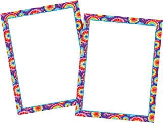 Barker Creek Computer Paper 2 Pack (100 sheets) - Tie-Dye (BC3607)