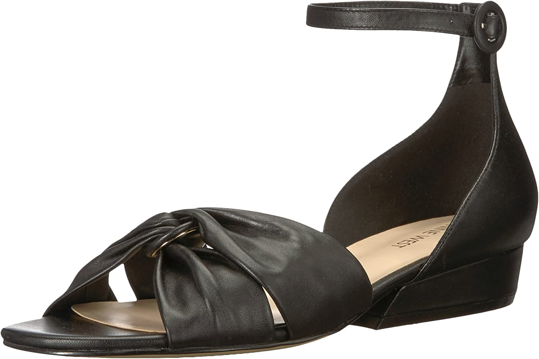 Nine West Women's Lumsi Leather Sandal
