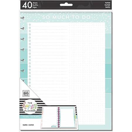 The Happy Planner Mini Fill Dot Grid Happy Journal