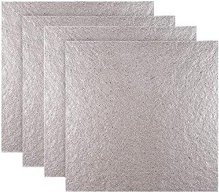 teng hong hui 4pcs Thicken Isolation Thermique mica Feuilles Plaques tranches Four Mica pour Micro-Ondes Réparation Partie