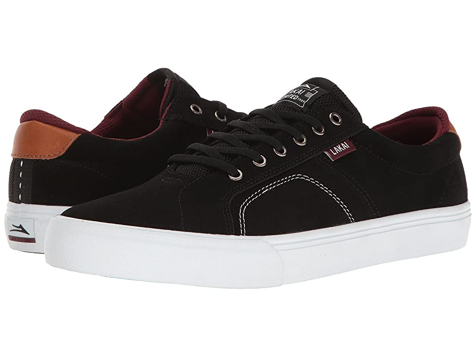 Lakai Flaco (Black/White Suede) Men