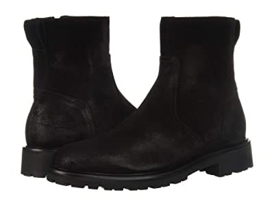 BELSTAFF Attwell Burnished Suede Boot (Black) Men
