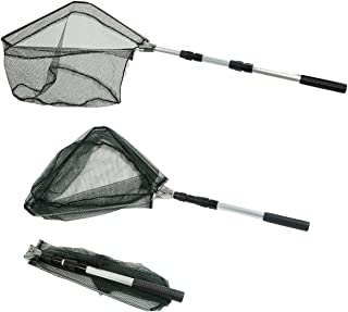 RESTCLOUD Fishing Landing Net with Telescoping Pole...