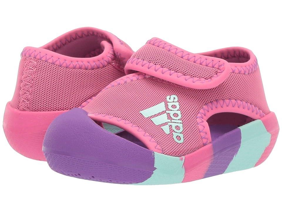 adidas Kids AltaVenture (Toddler) (Semi Solar Pink/Active Purple/Clear Mint) Girls Shoes