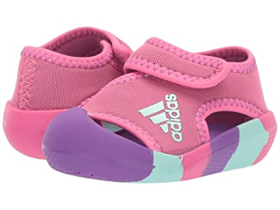 adidas Kids AltaVenture (Toddler) (Semi Solar Pink/Active Purple/Clear Mint) Girls Shoes