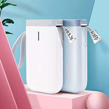 1 Pc Pocket Printer Thermal Label Printers High Resolution Zero Ink Printing Technology Bluetooth Connection