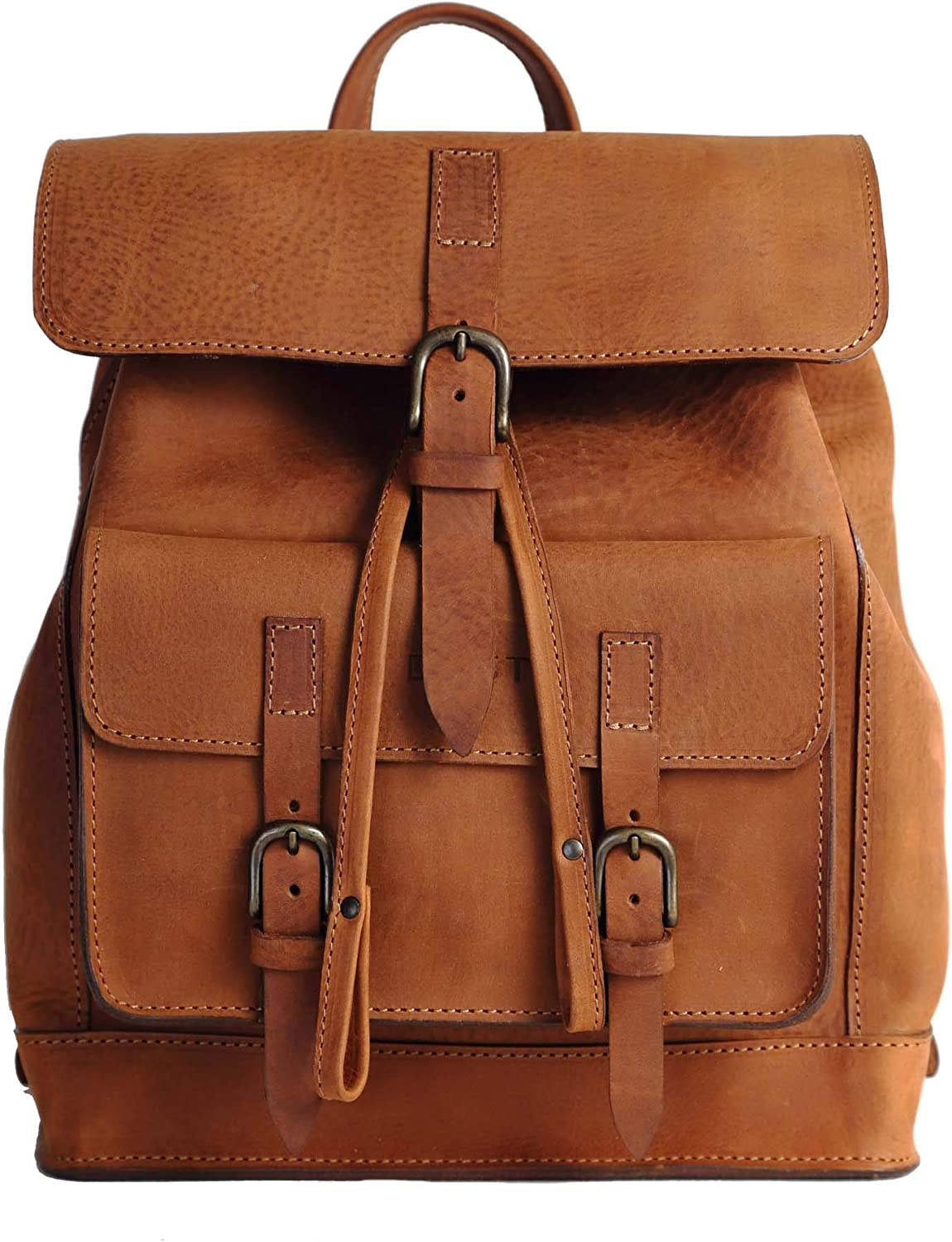 Dust Women's Leather Backpack  DU103 (Heritage Brown)