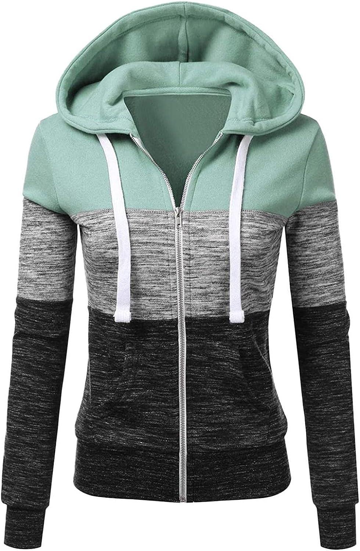 Hoodies for Women Zip Up,Womens Hoodies Pullover 2021 Hoodie Sweatshirt Jumper Drawstring Pullover Tops Blouses