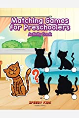 Matching Games for Preschoolers Activity Book Paperback