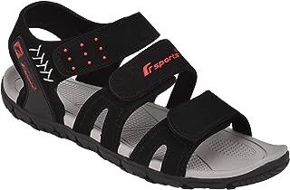 Fsports SP18 Series Black Casual Sandal for Men