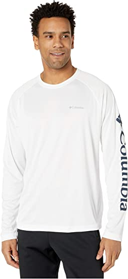 White/Collegiate Navy Logo