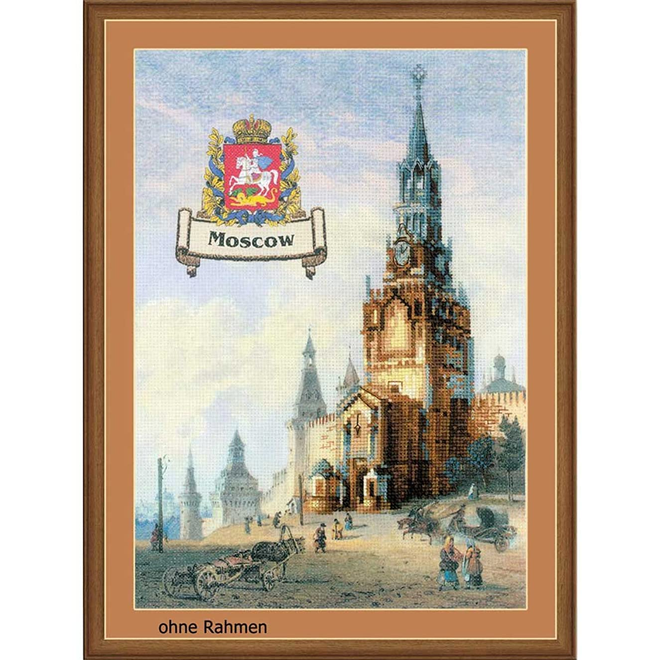 RIOLIS 0064 Cities of Russia - Moscow - Counted Cross Stitch Kit - 9