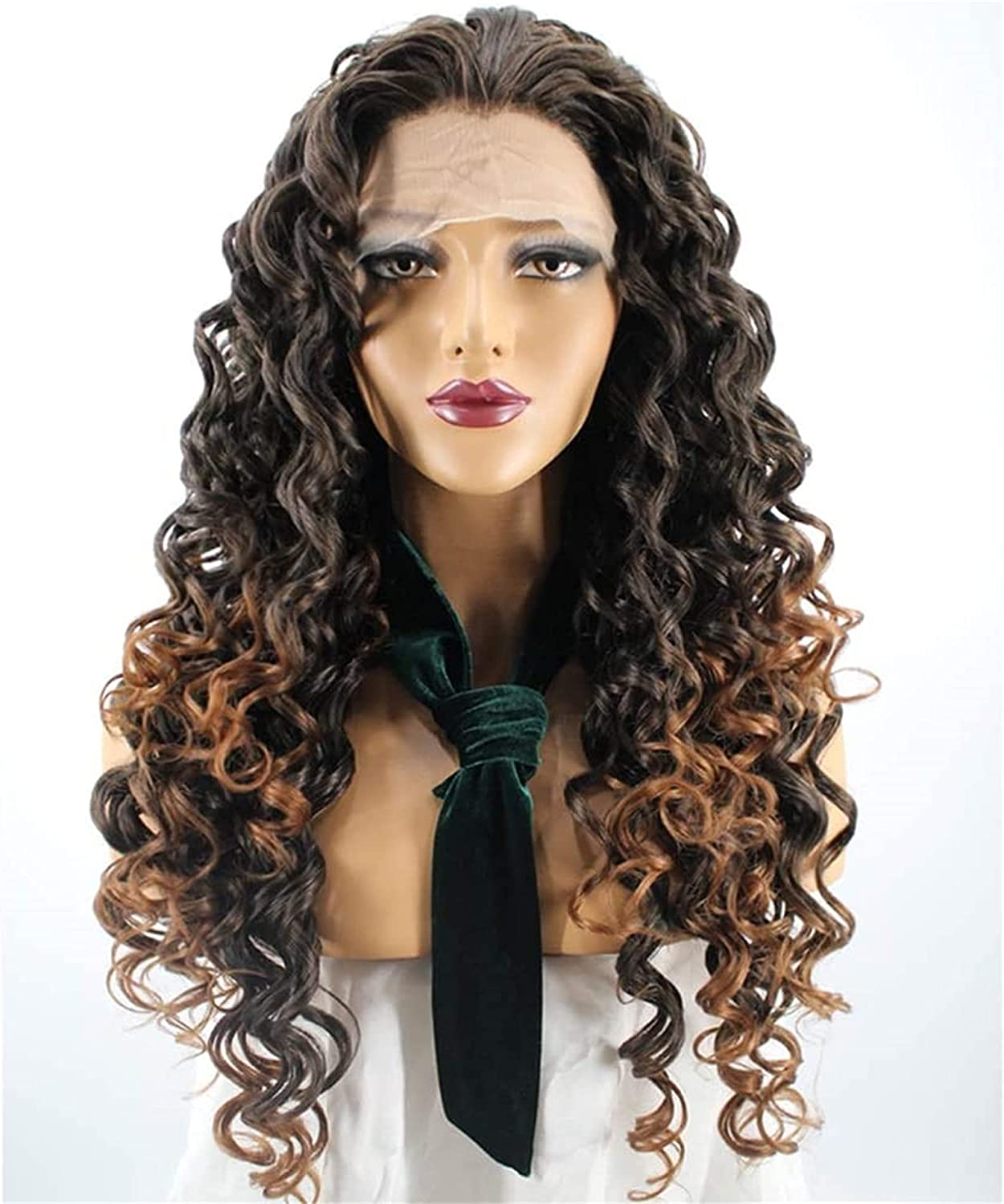 Natural Beautiful Wigs European And 2021new shipping free shipping T Ranking TOP11 Chemical Fiber Before Wig
