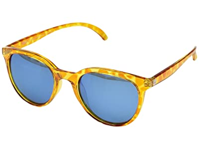 Sunski Makanis Lifestyle Collection (Blond Tortoise/Aqua) Sport Sunglasses