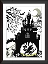 Cross Stitch Stamped Kits Pre-Printed Cross-Stitching Patterns for Beginner Kids Adults, Embroidery Crafts Needlepoint Starter Kits Fairy Tales for Home Wall Decor