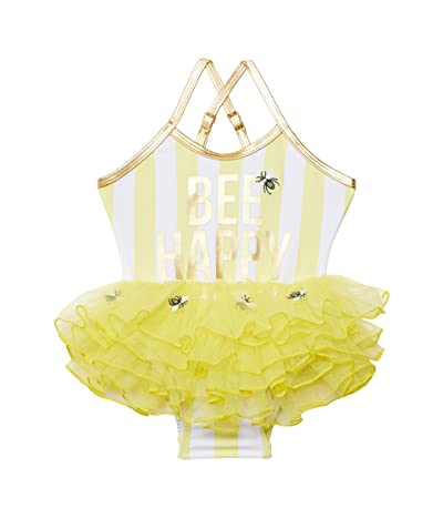 shade critters Beach Bunny One-Piece w/ Skirt Bee Happy (Infant/Toddler)
