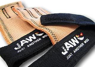 JAW Pull-Up Hand Grips (Black, Medium)