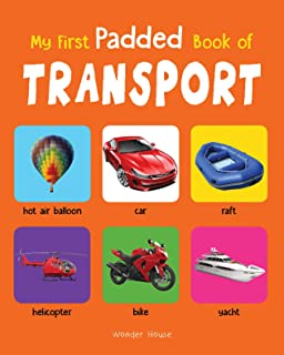 My First Padded Book Of Transport