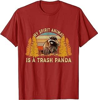 My Spirit Animal Is A Trash Panda Funny T Shirt
