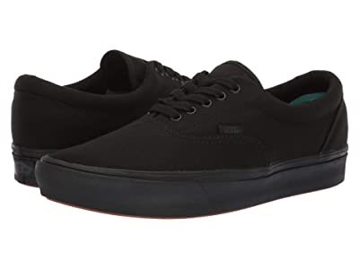 Vans ComfyCush Era ((Classic) Black/Black) Athletic Shoes