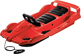 AlpenGaudi AlpenDoubleRace - Trineo (114 x 55 x 28 cm) rojo