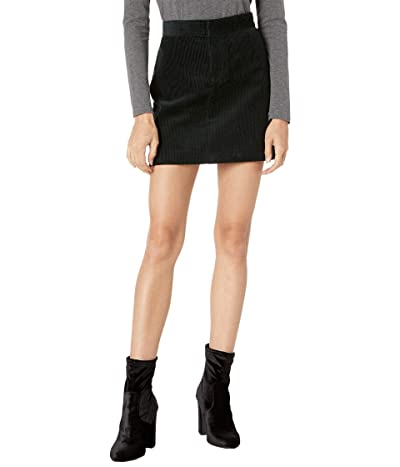 Blank NYC Wide Wale Rigid Corduroy Miniskirt (Far Out) Women