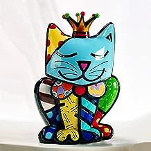 Limited Edition Romero Britto Cat Figurine