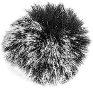Windshield Muff Fur Soft Microphone Windcover withFilter the Noise