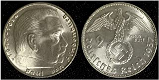1937 hindenburg coin