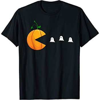 Custom Apparel R Us Happy Halloween Ghosts Youth Graphic Tees Long Sleeve Shirt