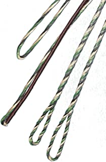CAMO 3-PLY FLEMISH - Fast Flight Plus - REPLACEMENT RECURVE BOWSTRING - BOW STRING - ACTUAL STRING LENGTH - By Traditional Gear Archery Products (Multiple Sizes)