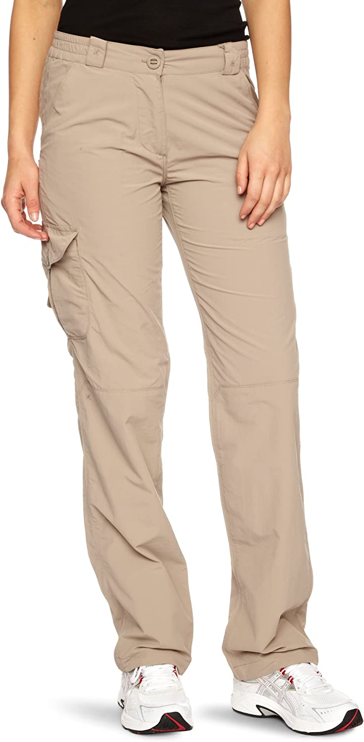 Craghoppers Women's NosiLife Trousers Ranking TOP7 4 Short Mushroom Sale special price