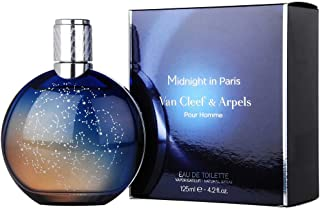 Midnight In Paris by Van Cleef & Arpels, Eau De Toilettes Spray, 4.2 Ounce