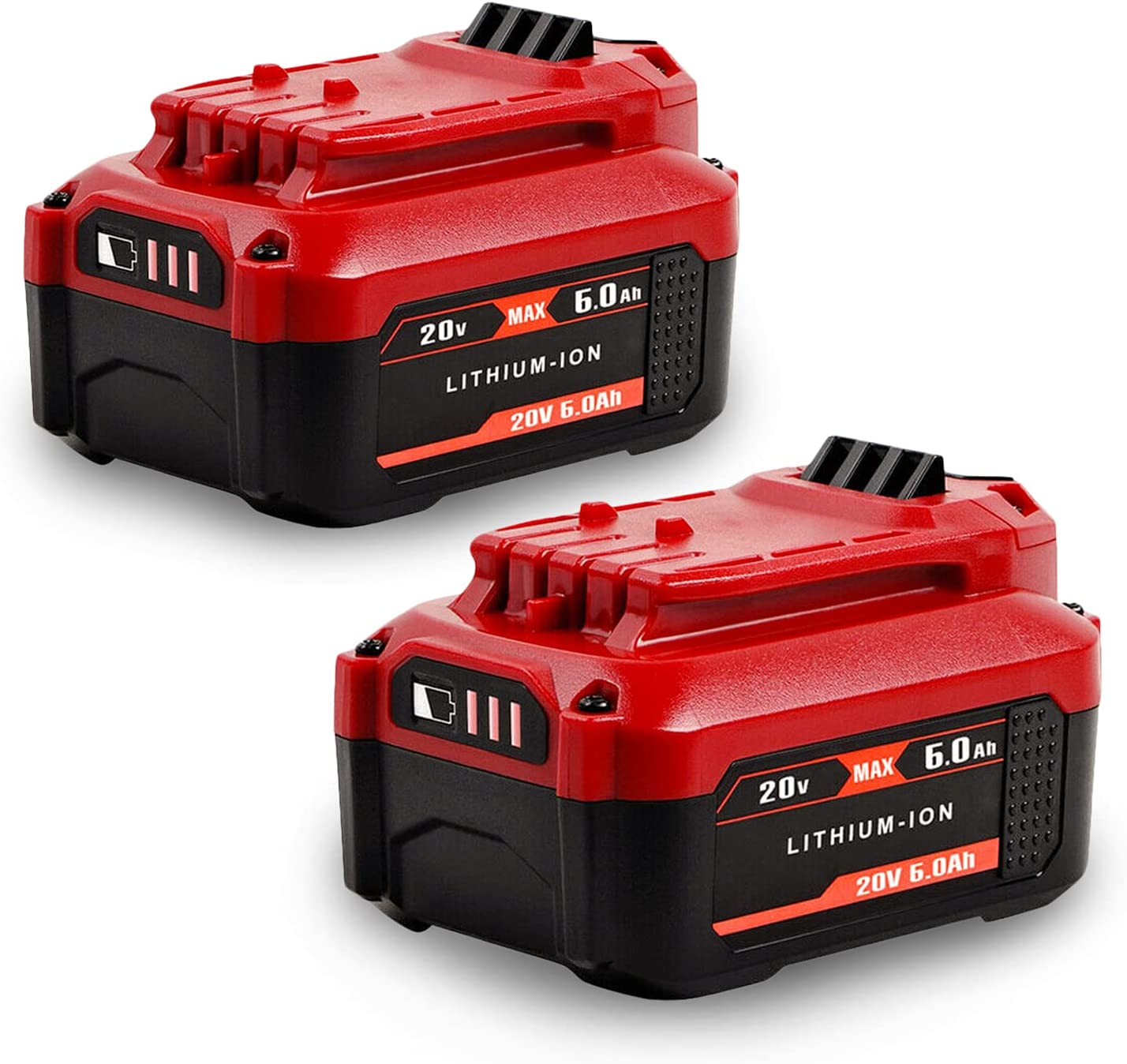 【Upgraded 6000mAh】 Reservation 20V CMCB204 Battery Replace High Fresno Mall Capacity