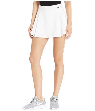 Nike Elevated Flouncy Skirt (White/Black/Black) Women