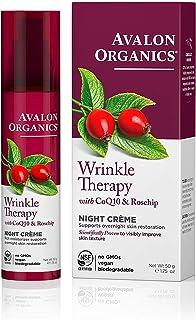 Avalon Organics Wrinkle Therapy Night Crème, 1.75 oz.