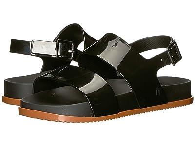 Mini Melissa Mel Cosmic Sandal (Little Kid) (Black/Brown 1) Girls Shoes