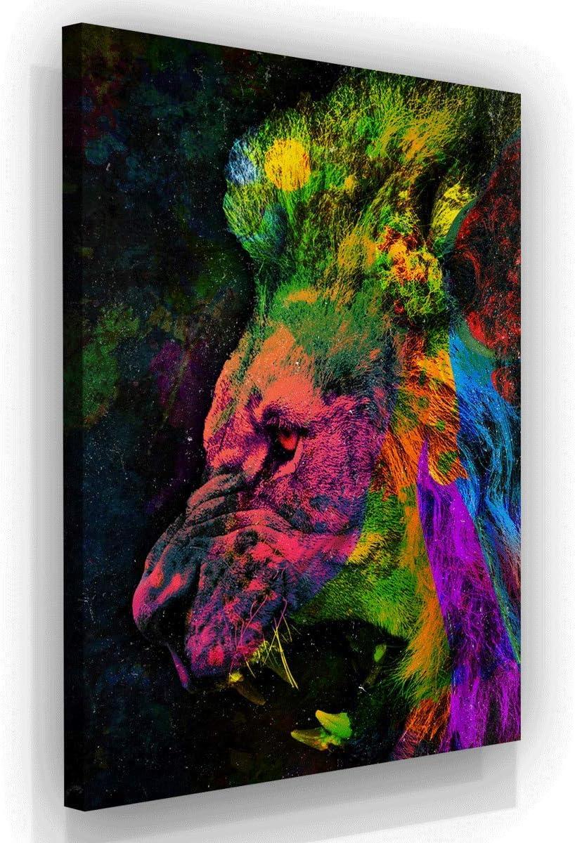 Office Lion Art Many Max 55% OFF popular brands Inspiration Canvas Modern Print Wall M Decor