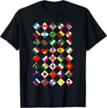 Flags of the Countries of the World,International Gift Shirt