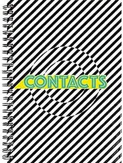 Address Book Kangaro A5 Hardc. 80 pages, spiral bound, assorted