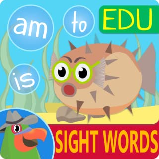Parrotfish Sight Words - Early Reading