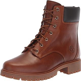 حذاء نسائي Jayne مقاوم للماء مقاس 15.24 سم متوسط بني محبب بالكامل 9 B US B (M)