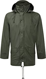 Fortress 221/GN-L Large Air Flex Waterproof Jacket - Green