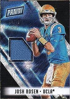 2018 Panini National Silver Pack Memorabilia Josh Rosen RC Rookie Jersey 4/49 Football Card UCLA Cardinals
